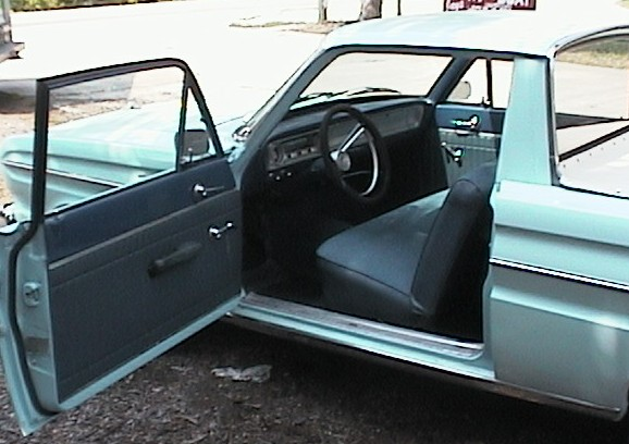gary bergenske found this 1965 ford ranchero november 12 2001 the previous owner had done a lot of work fixing this car up he had done a new interior